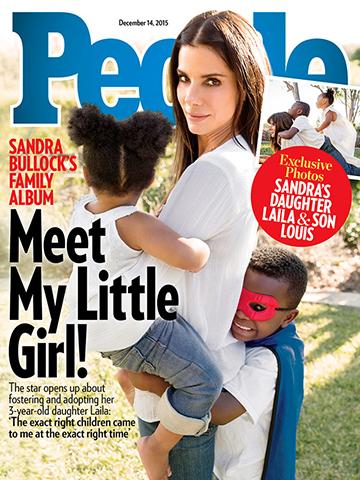 Sandra Bullock adota mais uma criança || Créditos: Divulgação