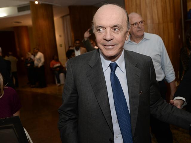 O ex-governador de São Paulo, senador José Serra, evitou reagir a críticas e ironias sobre seu post || André Ligeiro