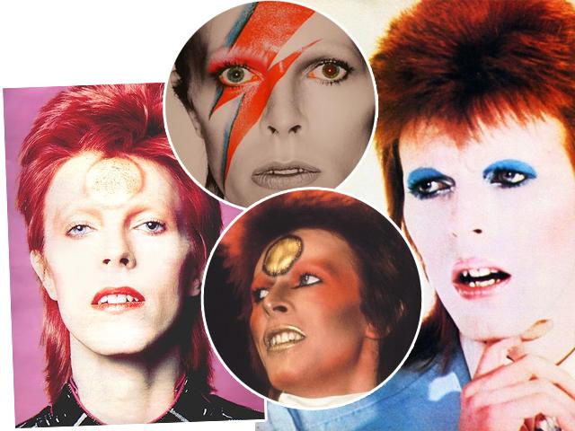 Os muitos rostos de David Bowie  ||  Créditos: Reprodução