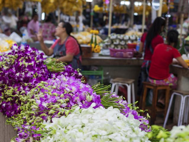 Bangkok Flower Market  ||  Créditos: iStock