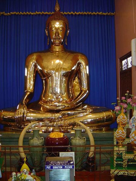 Golden Buddha Sukhothai Traimit  ||  Créditos: Reprodução