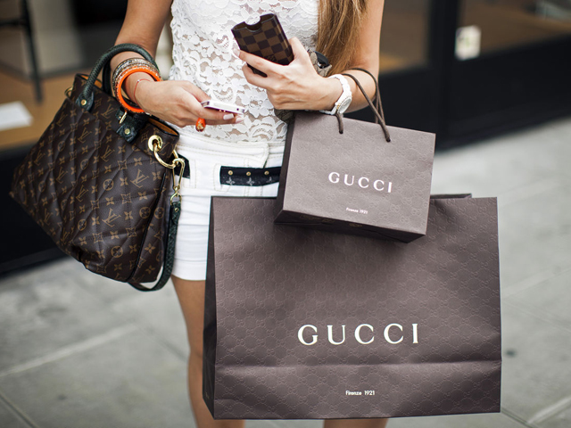 Mercado de luxo em performance     Créditos: Getty Images