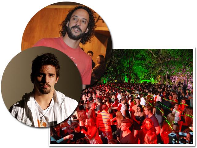 Gabriel o Pensador e o DJ Lorenzo Fasano agitam o Sirena neste sábado || Créditos: Juliana Rezende/Divulgação