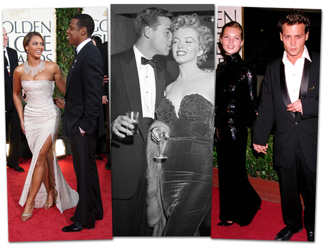 Os casais que Glamurama ama no Globo de Ouro || Créditos: Getty Images
