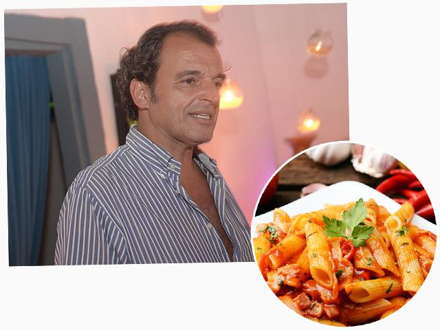 Fernando Droghetti, do Jacaré do Brasil, e as massas que são novidade no restaurante || Créditos: Bruna Guerra