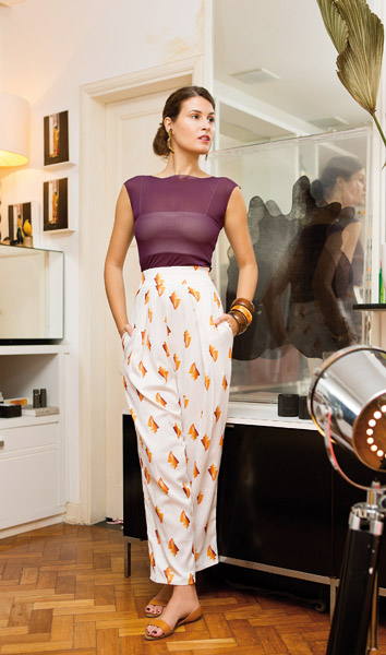 Raquel Alvarez abre o closet para a revista J.P || Créditos: Anna Fischer