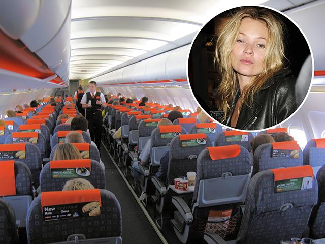 Kate Moss: quiproquó no avião || Créditos: Getty Images