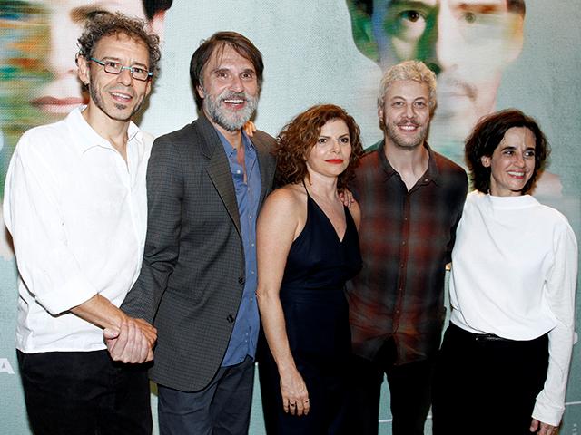 Emilio de Mello, Fernando Eiras, Debora Bloch, Guilherme Weber e Mariana Lima