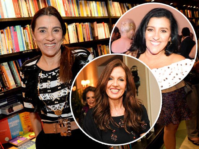 Em sentido horário: Patricia e Regina Casé e Flora Gil || Créditos: Leo Marinho / Paulo Freitas
