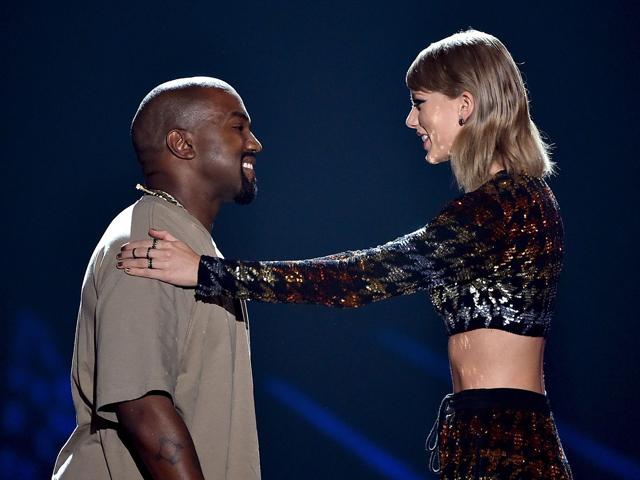 Kanye West e Taylor Swift: sempre em pé de guerra || Créditos: Getty Images