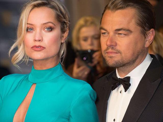 Laura Whitmore e Leo DiCaprio... será?    Crédito: Getty Images
