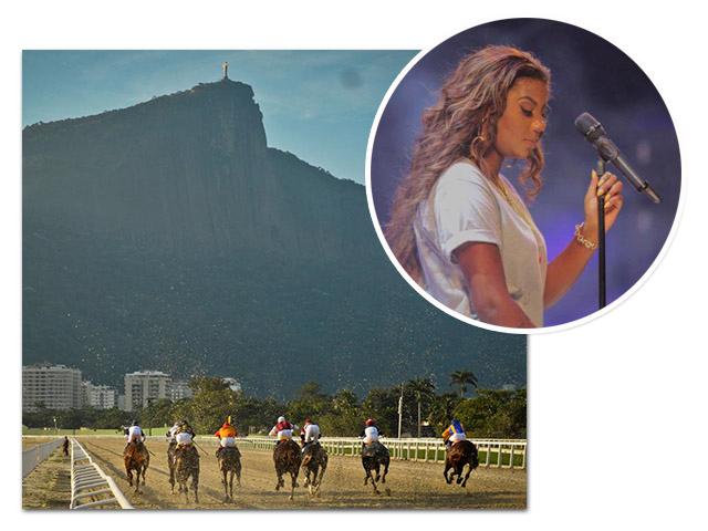 Jockey Club e Ludmilla    Créditos: Divulgação
