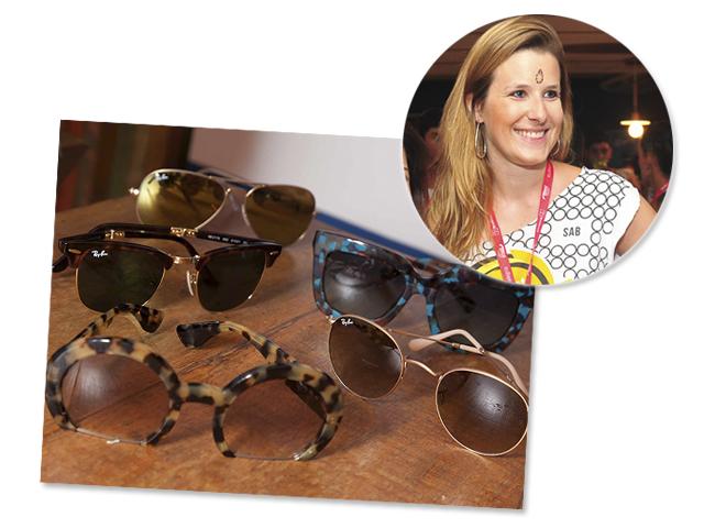 A Coordenadora de Marketing da Sunglass Hut e óculo de sol das marcas  Ray-Ban ce9ea3c80a
