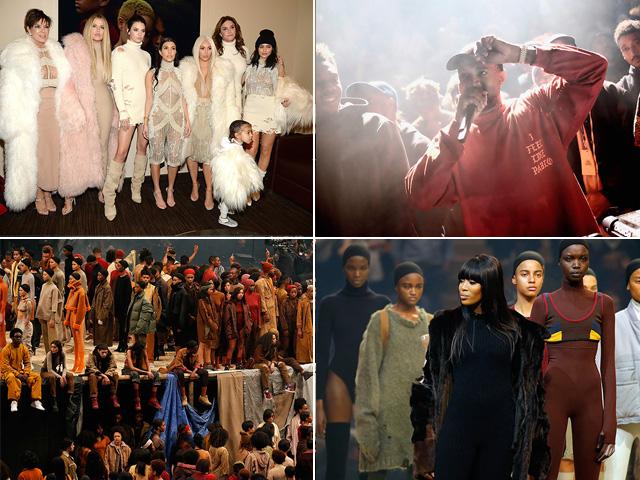O show bombado de Kanye West      Créditos: AgNews