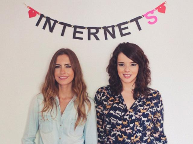 Luisa Voll e Dani Arrais, idealizadoras da Contente, nova parceira de conteúdo do Glamurama || Créditos: Reprodução