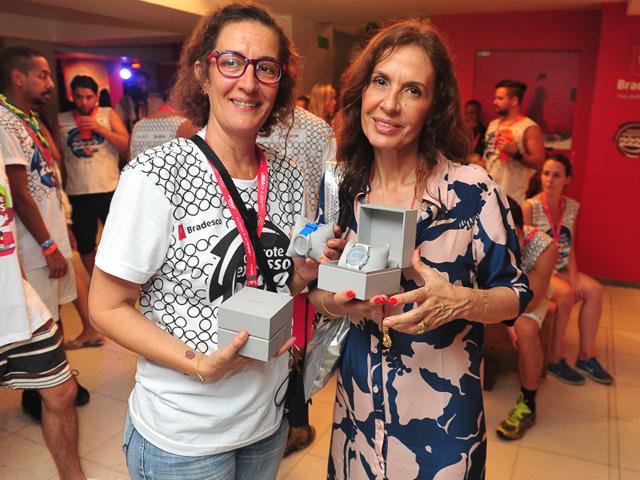 Fafá Giordano e Flora Gil Créditos: