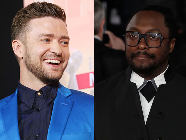 Justin Timberlake e Will.I.Am parceria ou cópia?  ||  Créditos: Getty Images