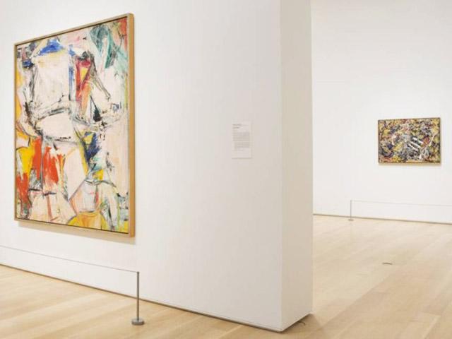 Os quadros de Willem de Kooning e Jackson Pollock comprados por Kenneth Griffin  ||  Créditos: Instituto de Arte de Chicago / Divulgação