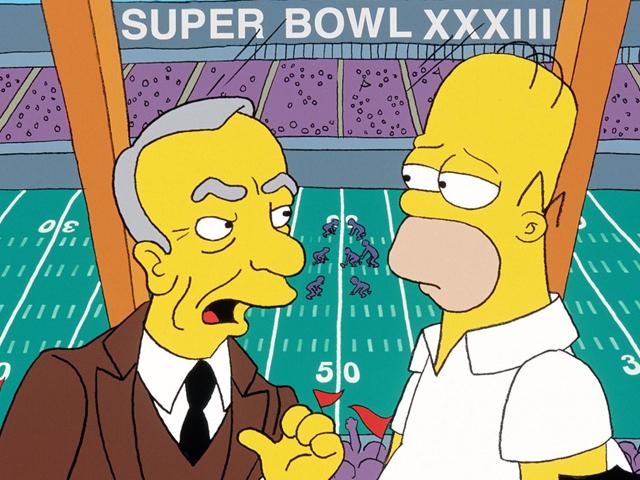 Rupert Murcoch e Homer Simpson    Créditos: Reprodução