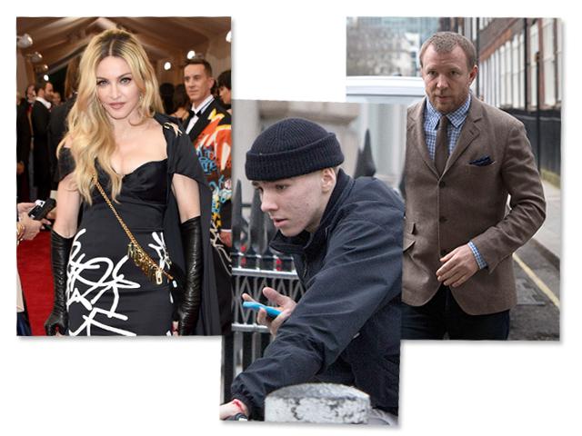 Madonna e Guy Ritchie: mais um round por Rocco    Créditos: Getty Images