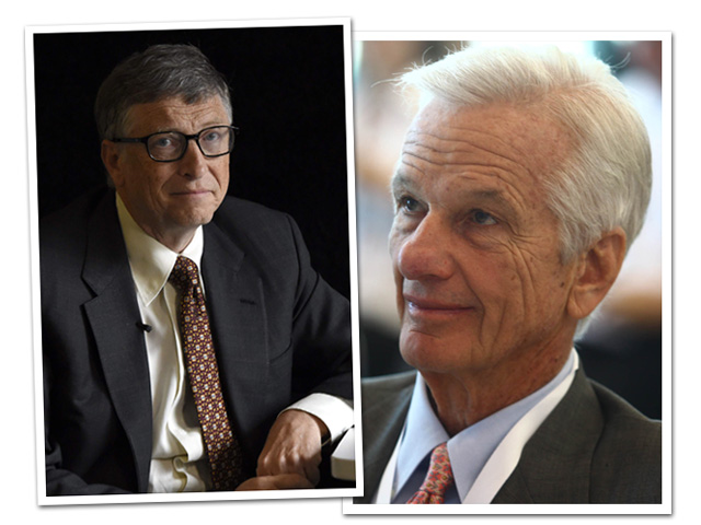 Bill Gates é o homem mais rico do mundo e Jorge Paulo Lemman lidera entre os brasileiros  ||  Créditos: Getty Images