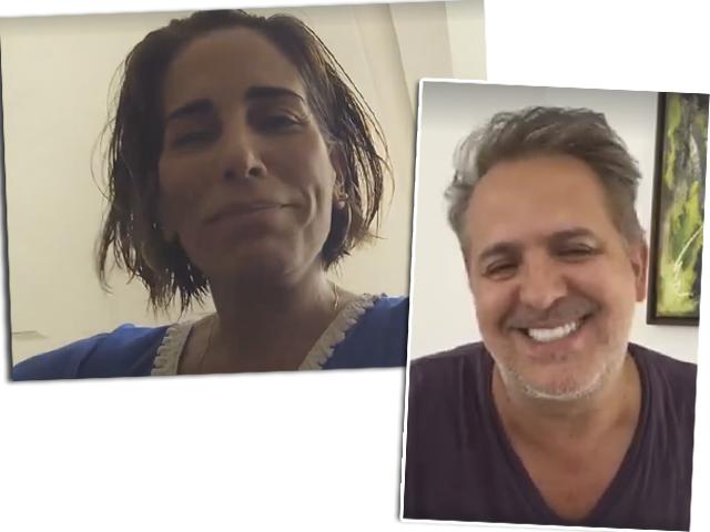 Gloria Pires e Orlando Morais: nas horas boas e ruins, unidos || Créditos: Reprodução / Facebook