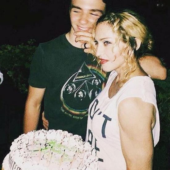 Rocco e Madonna    Créditos: Reprodução / Instagram