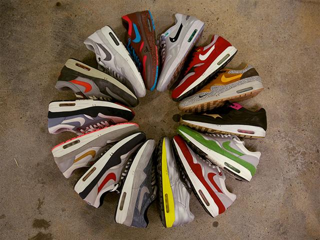 Um dos mais populares modelos da Nike, o Air Max || Créditos: Reprodução