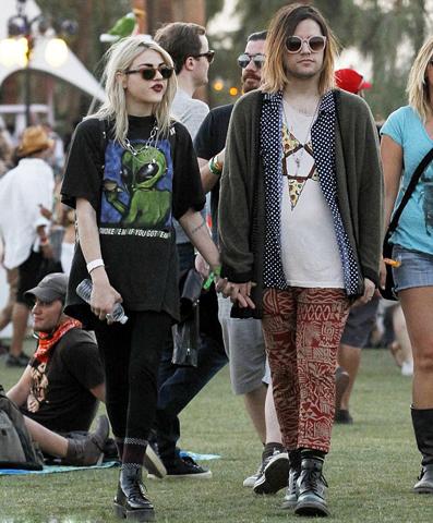 Frances Bean Cobain e Isaías Silva não formam mais um casal  ||  Créditos: Getty Images
