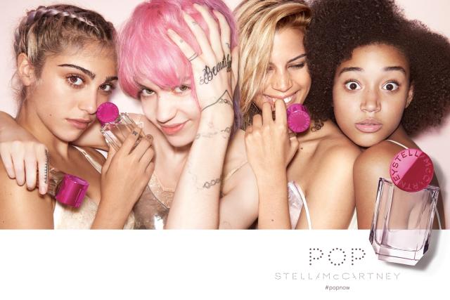 A campanha do novo perfume Pop, de Stella McCartney || Créditos: Divulgação