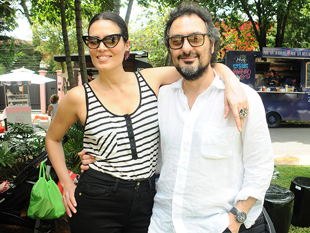 Cassia Avila e Jack Vartanian: baby boom  ||  Créditos: Bruna Guerra