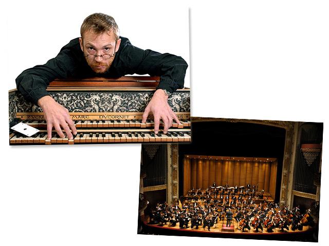 Nicolau de Figueiredo na Orquestra Sinfônica Municipal    Créditos: Divulgação