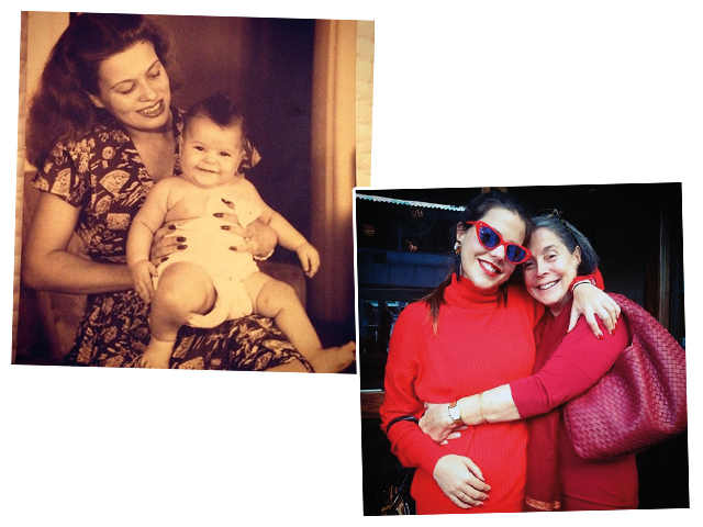 Ruth e a filha Vera Duvivier, Alix Duvernoy e Vera || Créditos: Reprodução Instagram/Revista J.P