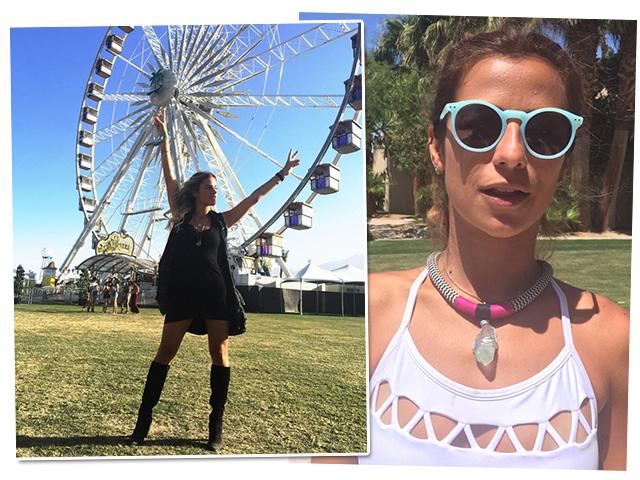 Shantal Abreu e Paula Morais na Casa Laces Coachella  || Créditos: Divulgação