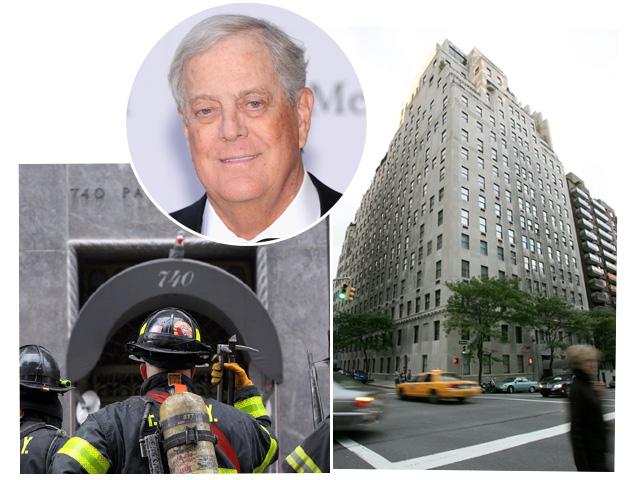 David Koch e o 740 da Park Avenue    Créditos: Divulgação