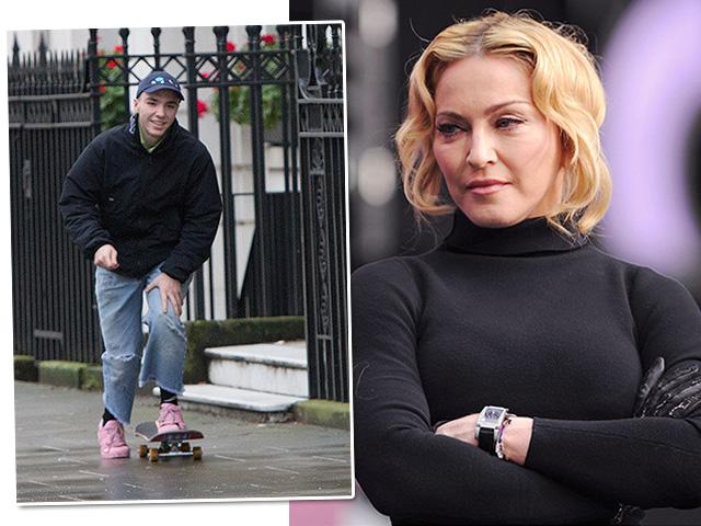 Instagram de Rocco não deixou Madonna feliz  ||  Créditos: Getty Images