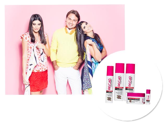Os sócios Duda, Sofia e Filipe estão conquistando clientela fiel que busca por produtos de beleza naturais     Créditos: Divulgação
