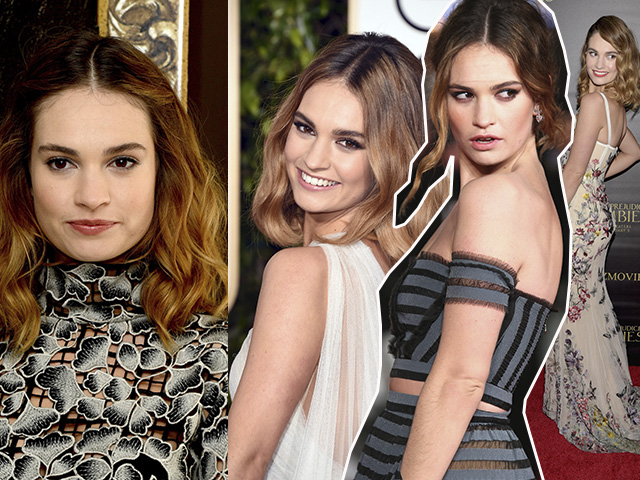 Lily James|| Créditos: Getty Images