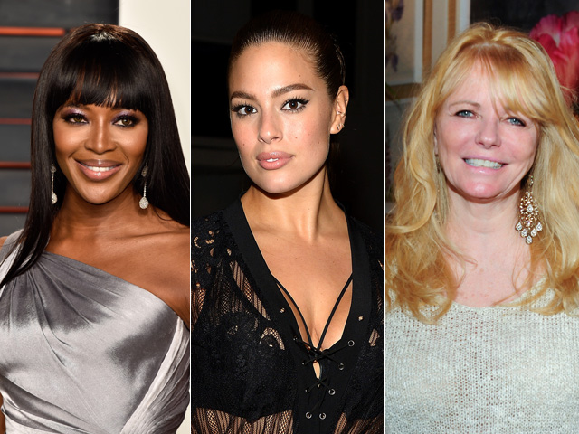 No ringue: Naomi campbell, Ashley Graham e Cheryl Tiegs  ||  Créditos: Getty Images