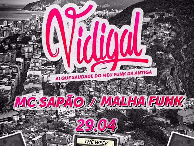 Noitada paulistana com ritmo carioca faz homenagem ao morro mais famoso do Brasil, com shows de MC Sapão e Malha Funk  || Créditos: Divulgação