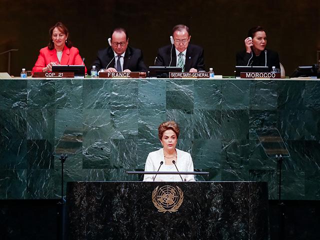 A presidente Dilma Rousseff, que nas últimas semanas tem dito que há um golpe em curso no Brasil|| Tania Rego /Agência Brasil
