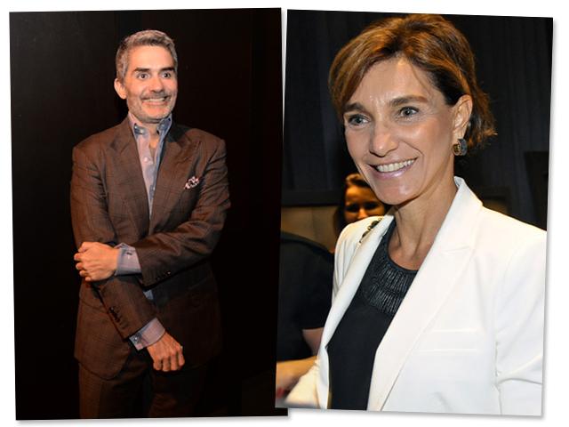 Felipe Diniz e Ana Maria Diniz: negócios imobiliários