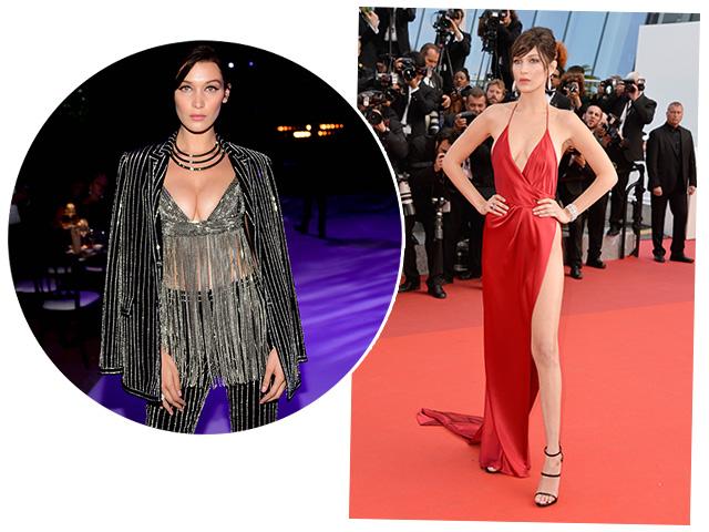 Bella Hadid: duas vezes de parar Cannes  ||  Créditos: Getty Images