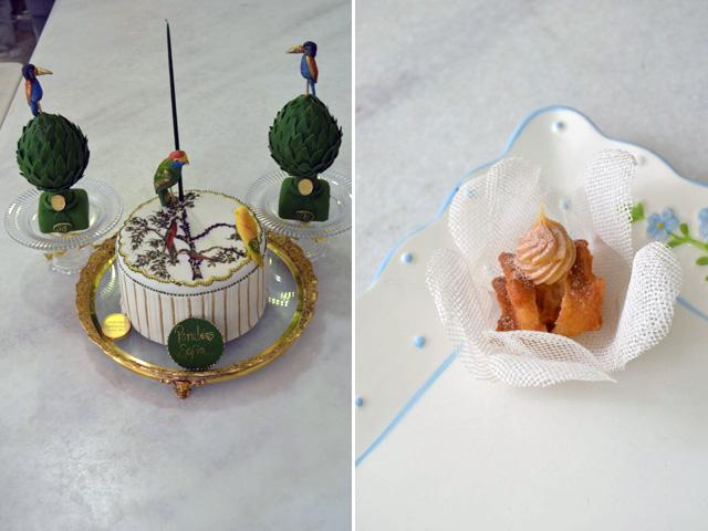 """O bolo e o """"doce Sofia"""" da confeiteira Isabella Suplicy      Créditos: Divulgação"""