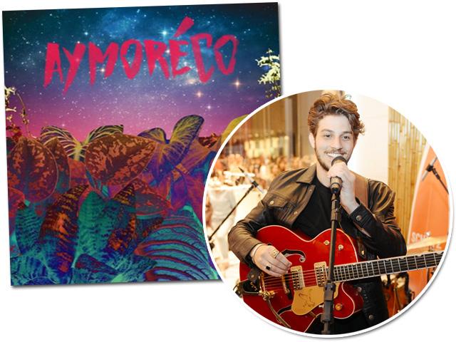 Chay Suede e seu recente trabalho musical Aymoréco em parceria com Diogo Strausz   || Créditos: Andre Ligeiro