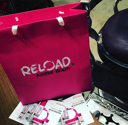 Reload Posite Beauty marcou presença no encontro de Poder     Créditos: Reprodução Instagram