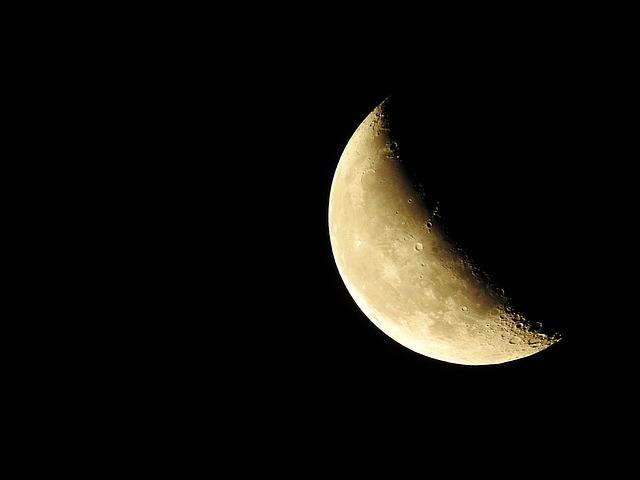 tamanho lua crescente