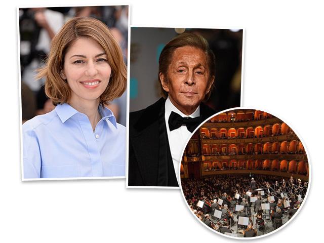 "Sofia Coppola e Valentino assinam a montagem da ""La Traviata"", no Teatro dell'Opera di Roma || Créditos: Getty Images"