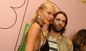 Alícia Kuczman desmentiu um boato no Fashion Rio. Sabe o que é?