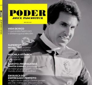 Revista PODER tem Rodrigo Paiva, Michel Teló e Alexandre Padilha